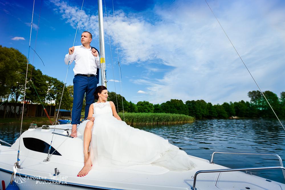 Olsztyn, sesja plenerowa poślubna, Olga i Rafał